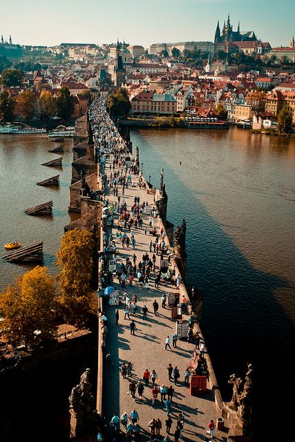 Prague, Czech Republic - one of the most amazing places I've ever been,