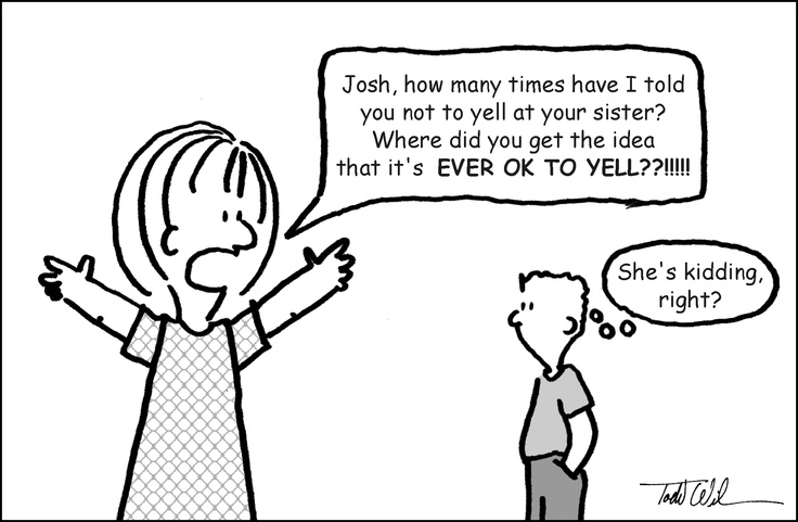 Mom example- ouch! Kinda like the parenting class at church today...