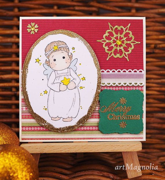 Check out this item in my Etsy shop https://www.etsy.com/listing/254889502/tilda-angel-christmas-cardshandmade