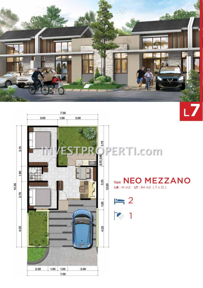 Cluster Neo Benevento @ Villaggio CitraRaya Tipe L7