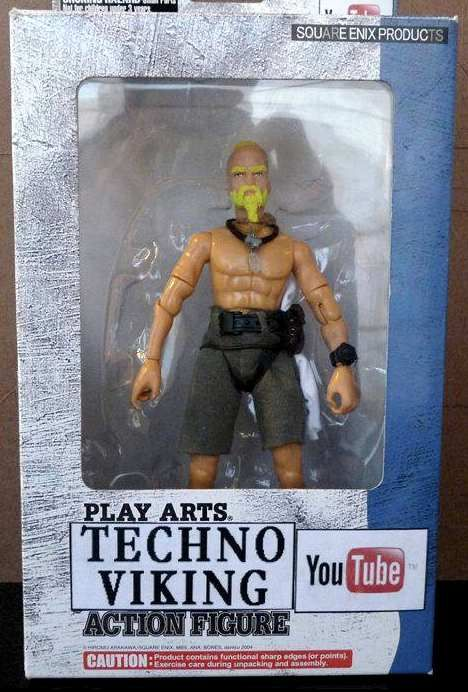 The Techno Viking Action Figure    (catched via Terence Fixmer's Facebook Page thxxx)