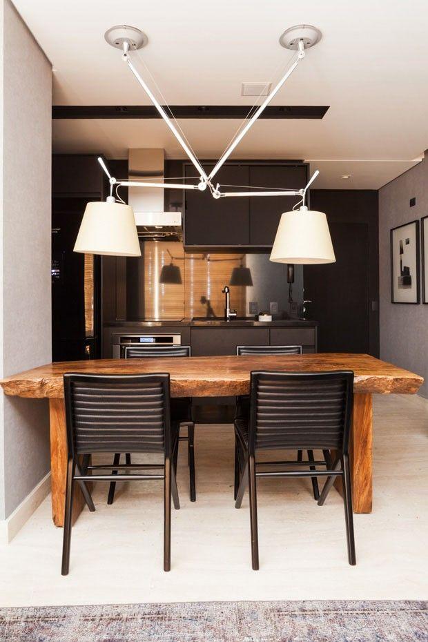 Apartamento pequeno 60 m² Díptico (Foto: divulgação)