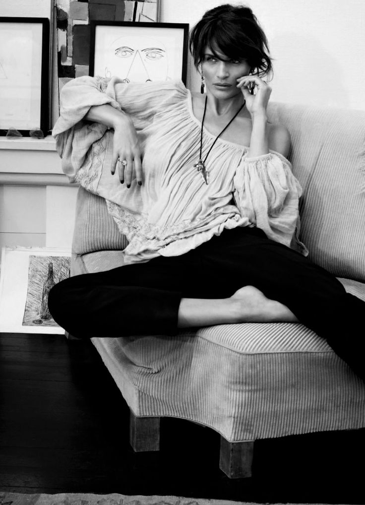 "inmysecretessence: "" http://inmysecretessence.tumblr.com/ ♣ 20.01.16 ♣ Model : Helena Christensen """