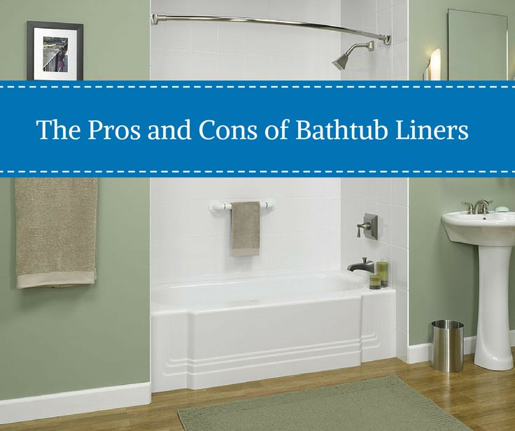There are a lot of choices when it comes to remodeling your bathtub. Make sure you know the pros and cons of bathtub liners! http://blog.innovatebuildingsolutions.com/2015/06/22/pros-cons-bathtub-liners/