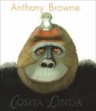 """""""Cosita Linda""""     Esta es la historia de un gorila muy especial a quien le enseñaron a comunicarse por señas. Si quiere algo, él puede pedirlo usando las manos. El gorila lo tiene todo y sin embargo está triste. Por eso, un día les pide a sus cuidadores que le consigan a un amigo; así es como la pequeña Linda entra en su vida..."""