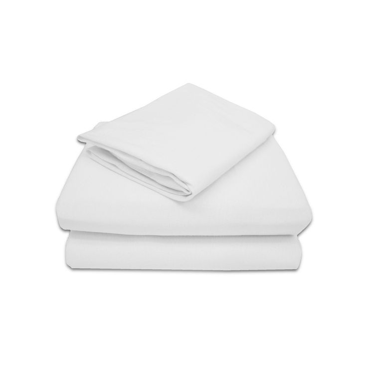 TL Care Jersey 3-pc. Toddler Sheet Set, White One Size
