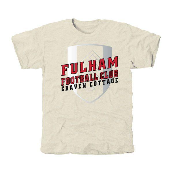 Fulham FC Stadium Tri-Blend T-Shirt - White - $31.99