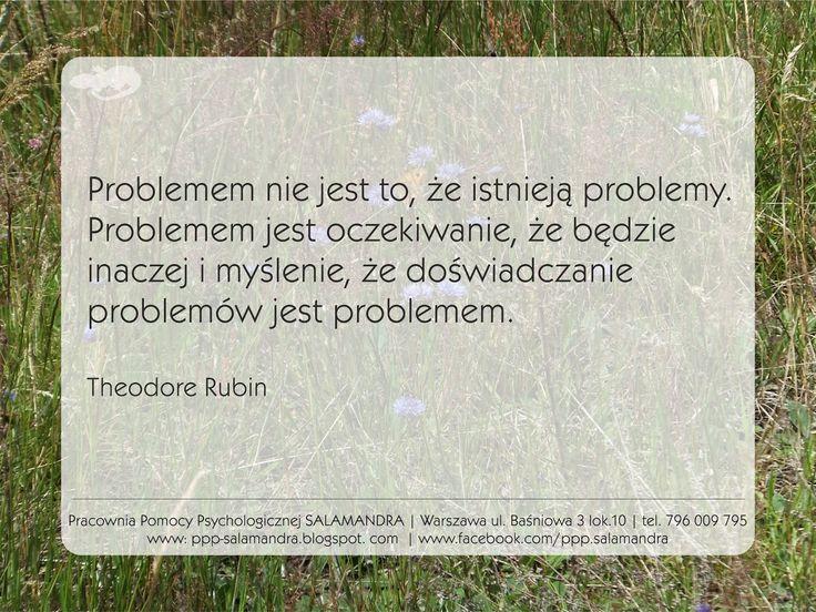 Problemem jest oczekiwanie, że nie będzie problemów