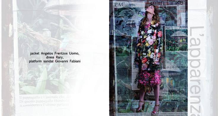 Popdam Magazine Issue 13 Photographer: Daniela Iraci Styling: Cristina Forte Hair & Make up: Pierluigi Tavelli / Freelancer Model: Martina Troni / Next Models Milano Location: Milan Fine Art: Daniela Iraci