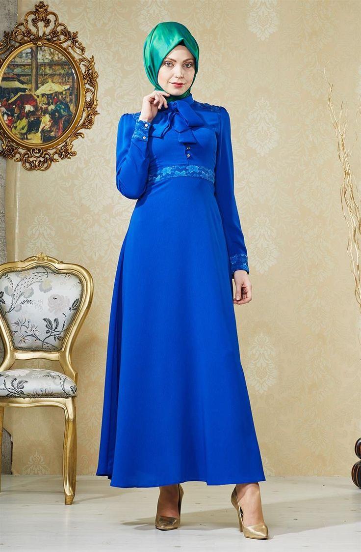 Nihan Elbise-Saks V4171-69