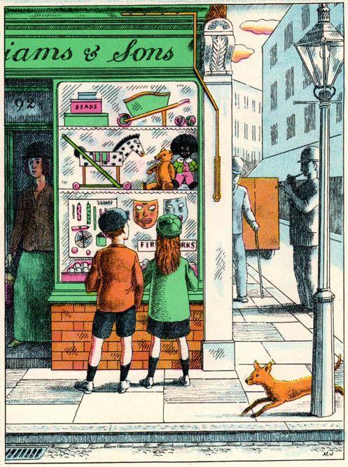 Walter de la Mare, This Year Next Year (1937) Illustrations by Harold Jones