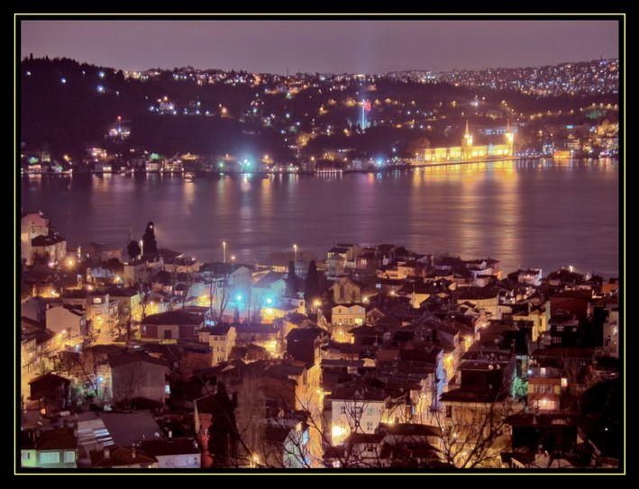 Arnavutköy'den Kuleli gece