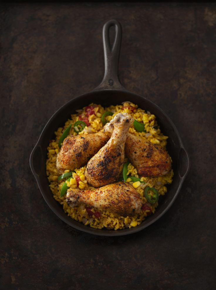 Arroz Con Pollo (Spanish Rice) | Just BARE Chicken