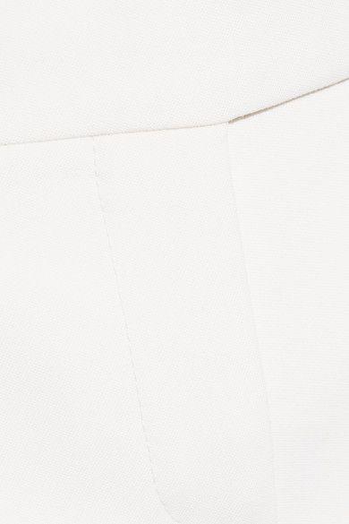 Alexander McQueen - Grain De Poudre Wool Flared Pants - White - IT42