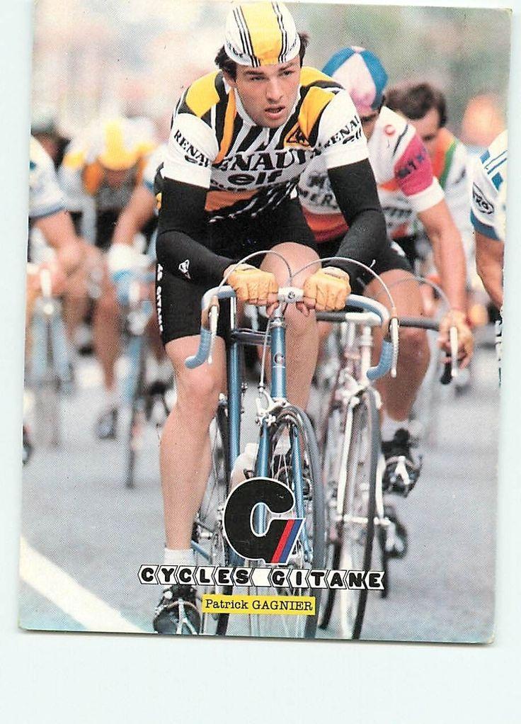 Patrick GAGNIER, Cycles Gitane. Coureur cycliste, cyclisme in Collections, Cartes postales, Thèmes | eBay