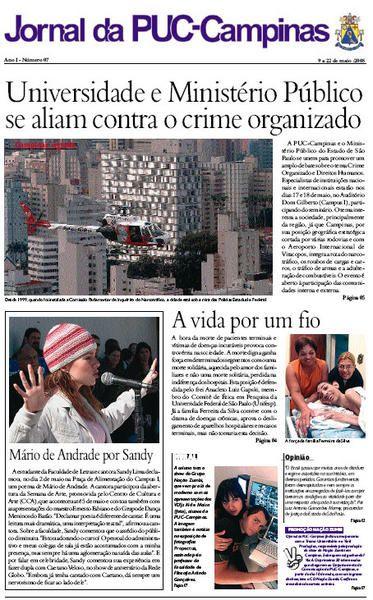 thatysej | Jornal da PUC- Campinas
