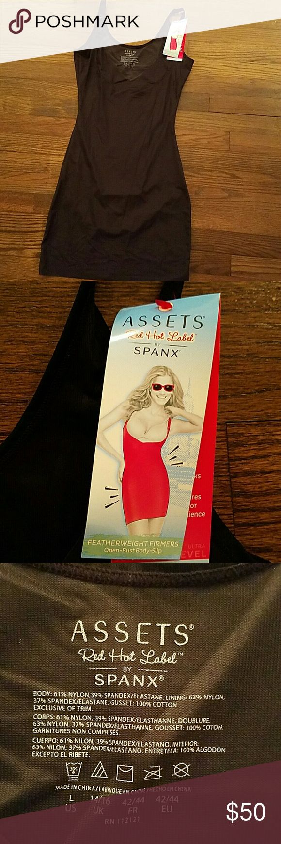 Spanx Spanx Slip with panty attached, superb control and fit. Hides the beauty you don't want to expose. SPANX Intimates & Sleepwear Shapewear