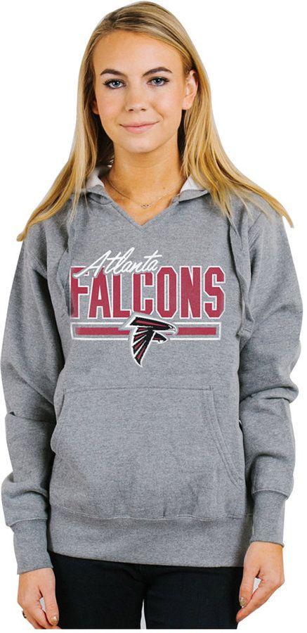 Authentic NFL Apparel Women's Atlanta Falcons Holiday Logo Hoodie