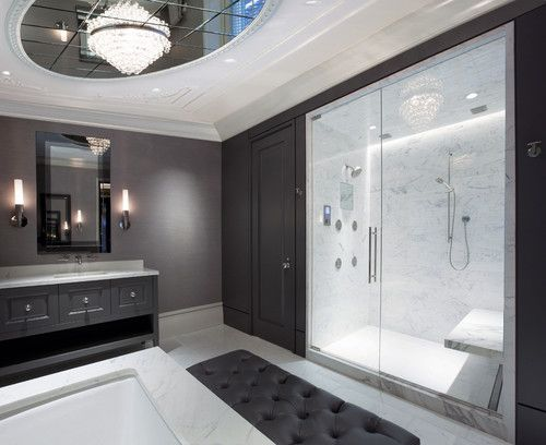 Seems like Houzzers couldn't get enough advice on renovating basements, kitchens, showers and even laundry rooms this year: Bathroom Design, Showers, Decor, Contemporary Bathrooms, Modern Bathroom, Michael Abrams, Dream House, Master Bathrooms, Bathroom Ideas