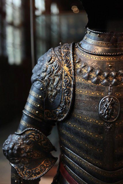Silver and Gold Armor
