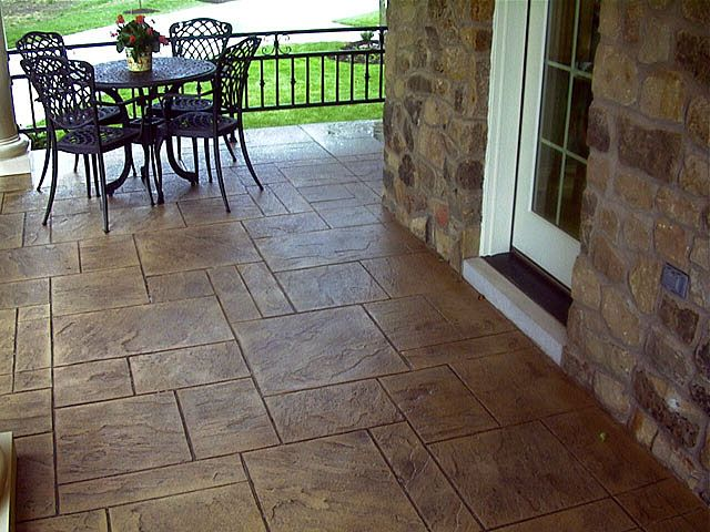 15 best stamped concrete patio ideas images on pinterest   patio ... - Stamped Concrete Ideas Patios