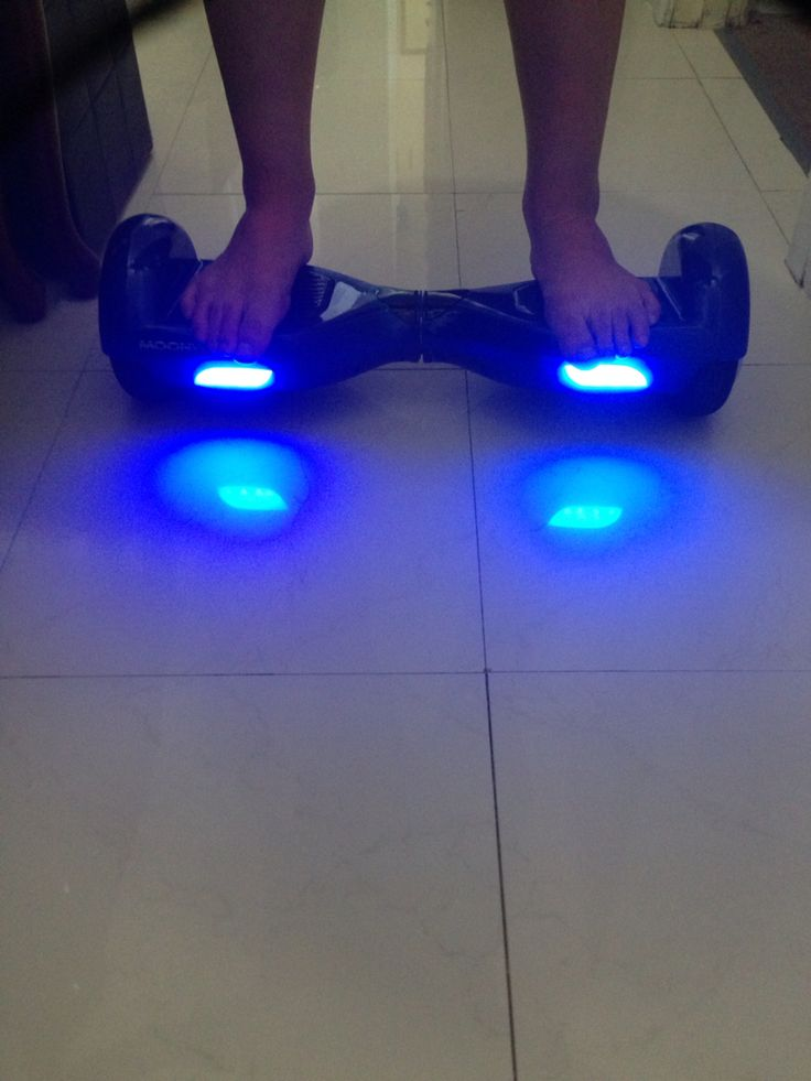 I got a hover board I can't believe this