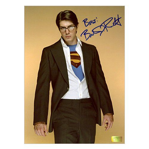 Brandon Routh Autographed 8.5x11 Superman Returns Reveal Photo @ niftywarehouse.com #NiftyWarehouse #Superman #DC #Comics #ComicBooks