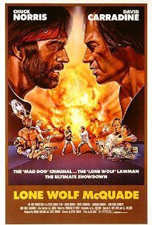 Lone Wolf McQuade (1983). I'm on a Chuck Norris roll. Loving every minute of it.
