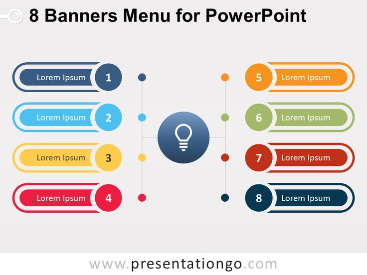 27 best text tables powerpoint templates images on pinterest 8 banners menu for powerpoint presentationgo toneelgroepblik Gallery