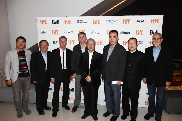 Xie Fei, Noah Cowan, Chen Kaige, Fu Hongxing, Bart Testa