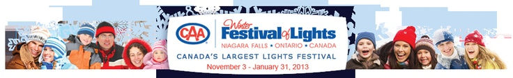 CAA Winter Festival of Lights | Canada's Largest Lights Festival