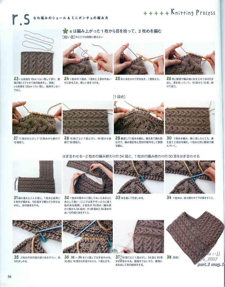 Esse poncho que achei lindinho é muito fácil de fazer, foi encontrado no blog da Tita Carré - Agulha e Tricot, um cantinho com uma infinidad...