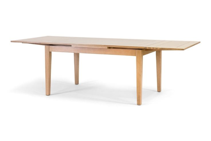 Elle Extension Dining Table, Australian made Tasmanian Oak and veneer extension table.  Have it made in your choice of stain and size.  From Urban Rhythm, Melbourne urbanrhythm.com.au