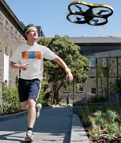 Video: Motivating Robot Follows You on Your Morning Run | Popular Science