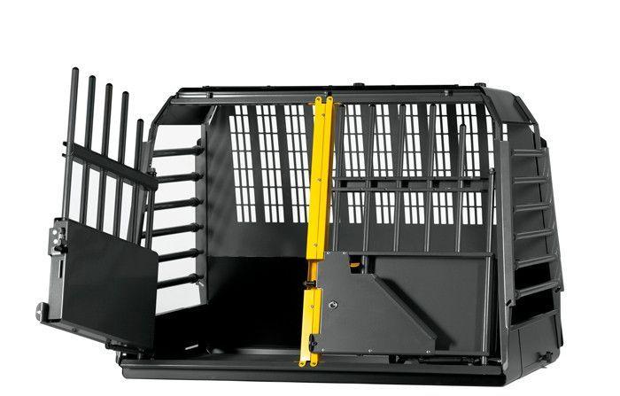 MIM Variocage World's Safest Dog Transport Crate- Double