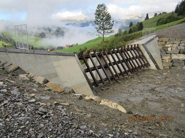 Rock slide protection. Schutzbauten Laui Sörenberg | Structurae