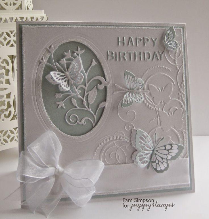 Flight Of butterflies.. Poppystamp dies..