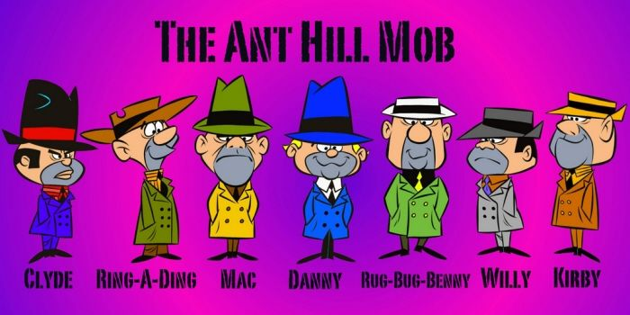 THE ANT HILL MOB - WACKY RACES by PATRICK OWSLEY at Coroflot