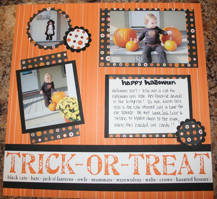 scrapbooking | Headlines and Quotes for Halloween Scrapbook Pages