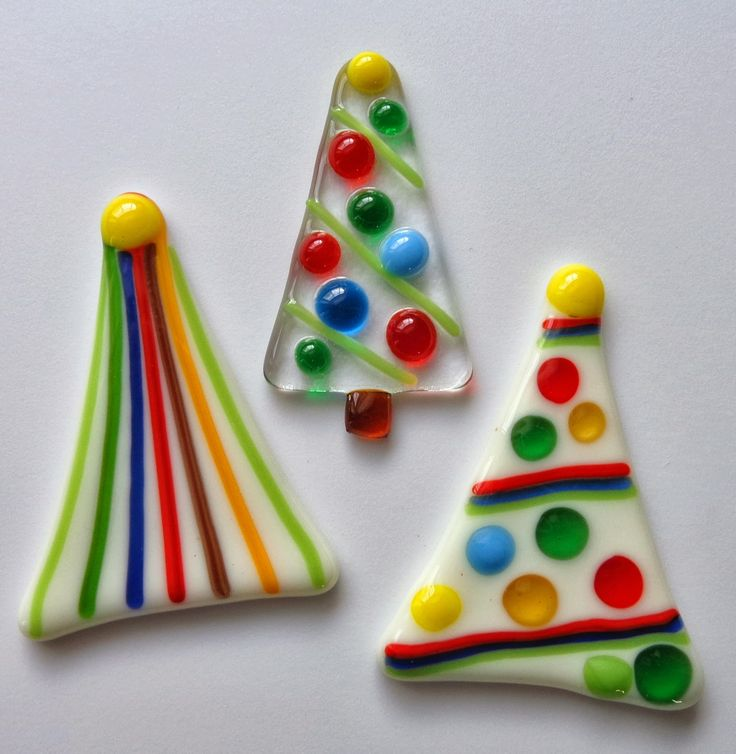 Best fused glass christmas images on pinterest