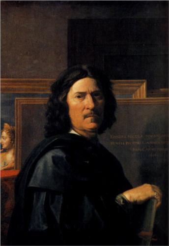 Self Portrait - Nicolas Poussin