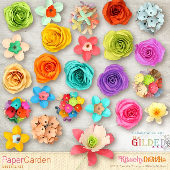 17 Best 1000 images about PAPER FLOWERS on Pinterest Handmade flowers