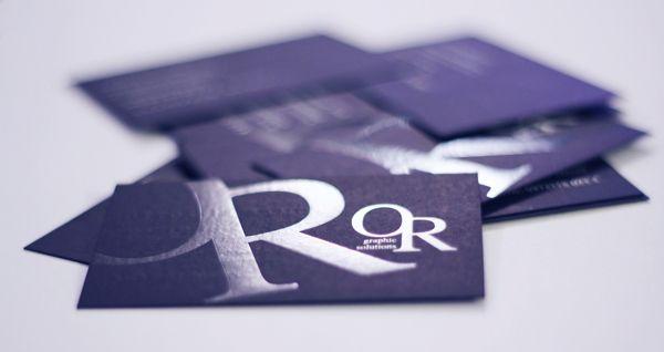Brand & Business Card Omar Rizzotti by Creative Point, via Behance