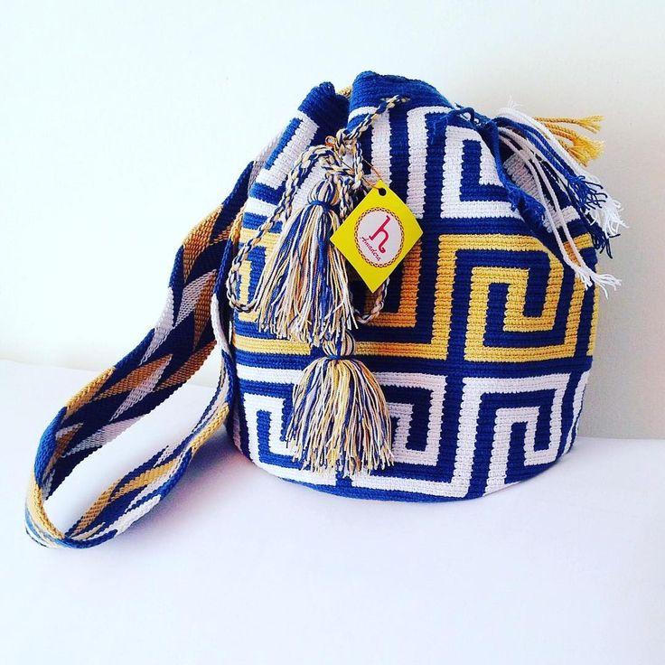 6 отметок «Нравится», 1 комментариев — Amadera's Bags (@amaderasbags) в Instagram: «Design: laberinto New design large size #amaderasbags #wayuubags #wayuustyle #wayuulovers…»