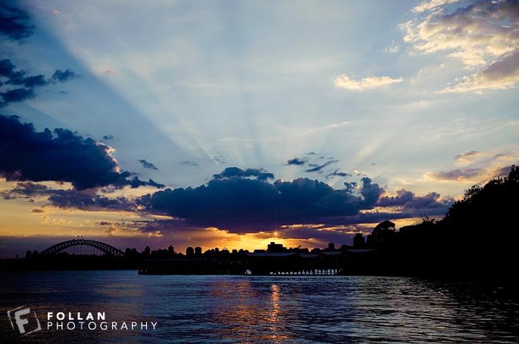 Sydney Harbour @ Sunset