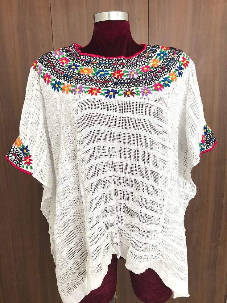 Un favorito personal de mi tienda de Etsy https://www.etsy.com/mx/listing/537503767/artisanal-hand-woven-mexican-huipil