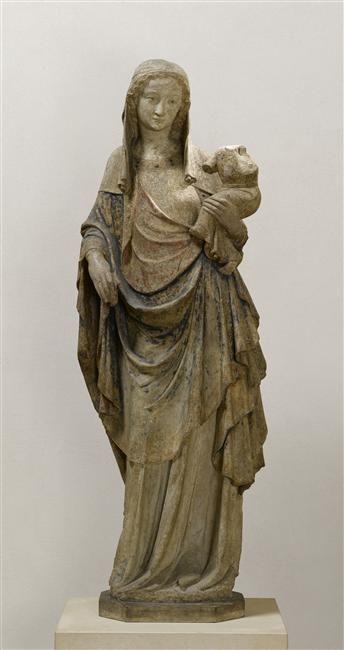 La Vierge et l'Enfant dite Vierge de la Celle Description : 2nd quart du 14e siècle. Provenance : église de la Celle-sur -Seine (?)