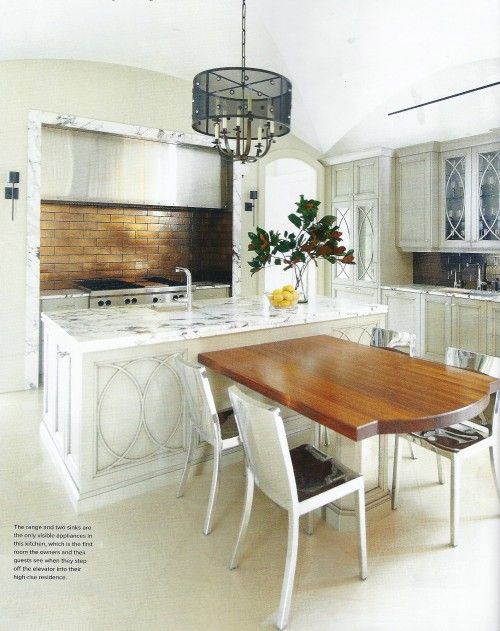 t shaped island marble trimmed hood via atlanta homes kitchen design kitchen island with on t kitchen layout id=75308