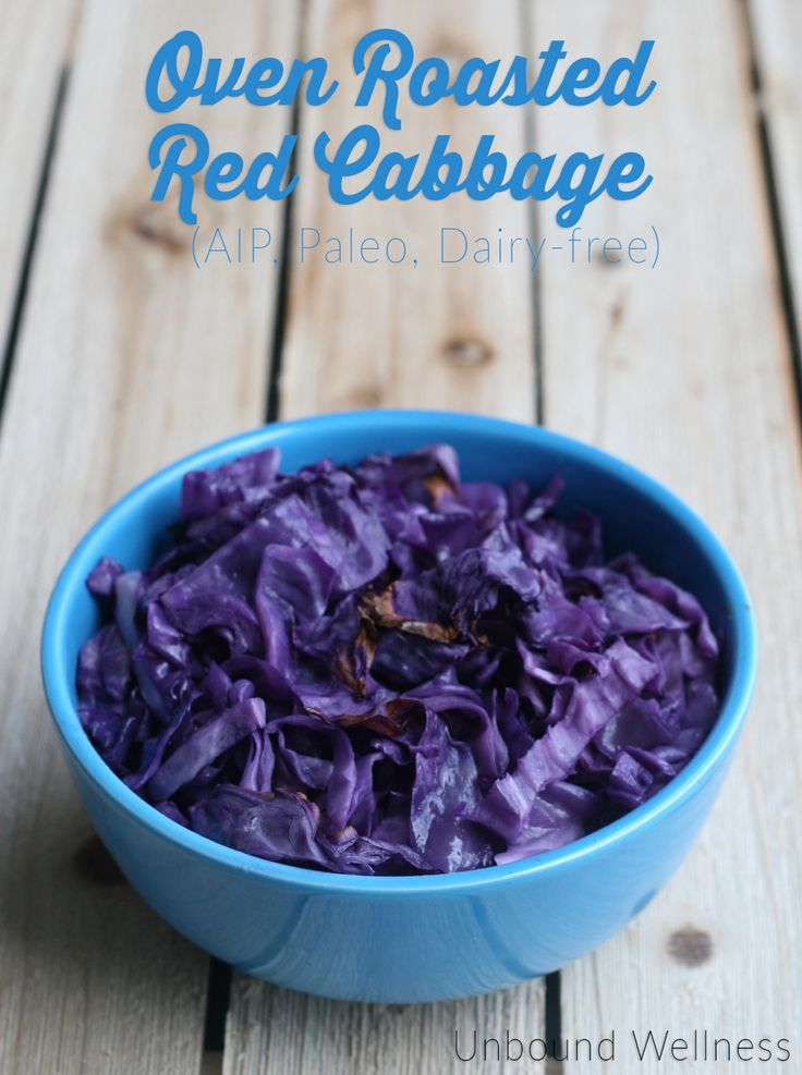 Oven Roasted Red Cabbage (AIP, Paleo) - Unbound Wellness