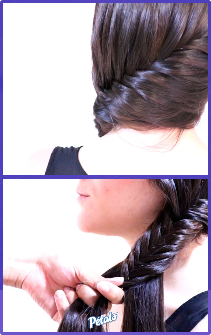 1000 ideas about aprender hacer trenzas on pinterest - Como realizar peinados ...